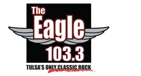 103.3 The Eagle - Tulsa's ONLY Classic Rock Logo